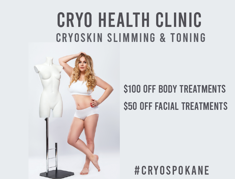 This is Cryoskin Tech Melissa MeltingTallow and I'm offering $100 OFF Cryoskin body treatments and $50 off Facial treatments for the first 25 people who RSVP